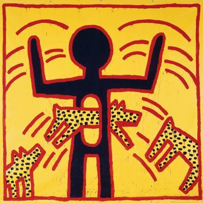 Haring - Untitled October 1982 Private Collection