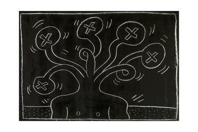 Haring - Subway Drawing Untitled - 27