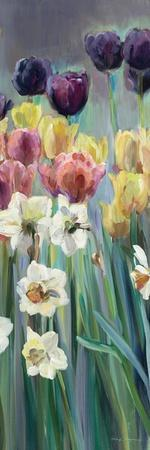 Grape Tulips Panel I