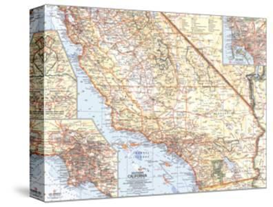 1966 Southern California Map