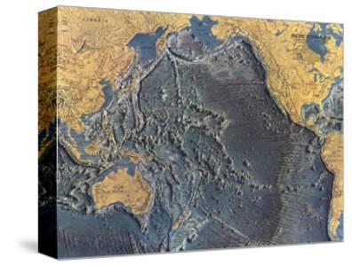 1969 Pacific Ocean Floor Map