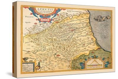 Map of Northeastern Italy