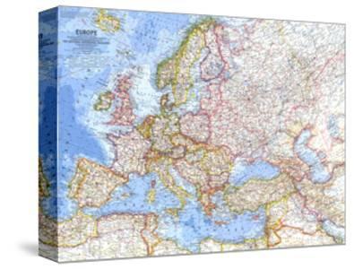 1962 Europe Map