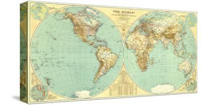 1935 World Map