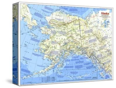 1984 Alaska Map