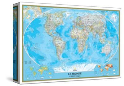 French Classic World Map