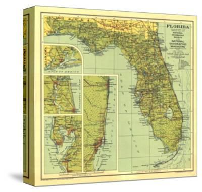 1930 Florida Map