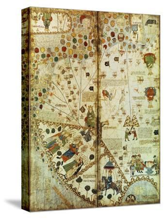 Detail from a Catalan World Map, 1375