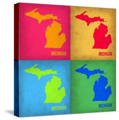 Michigan Pop Art Map 1