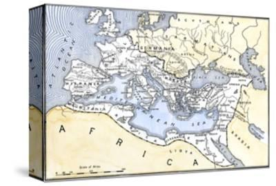 Map Showing the Extent of the Roman Empire