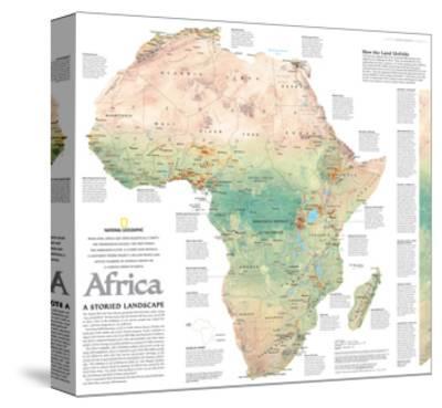 2005 Africa, A Storied Landscape Map