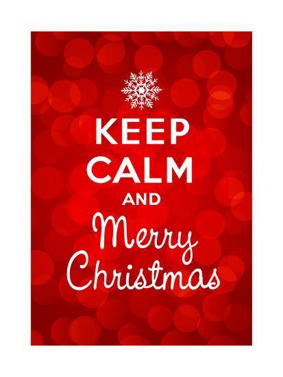 Keep Calm Christmas.Keep Calm And Merry Christmas