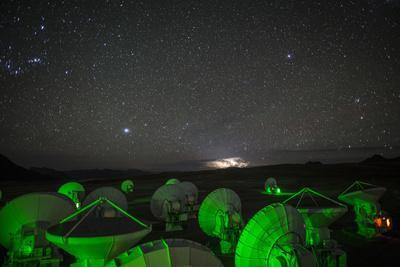 Antennas at the Atacama Large Millimeter/Submillimeter Array, Alma