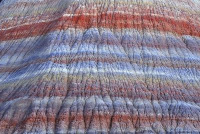 Colorful, Eroded Rock Formations in Pariah Canyon