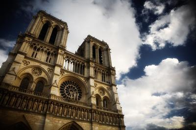 The Famous Notre Dame During the Day in Paris, France