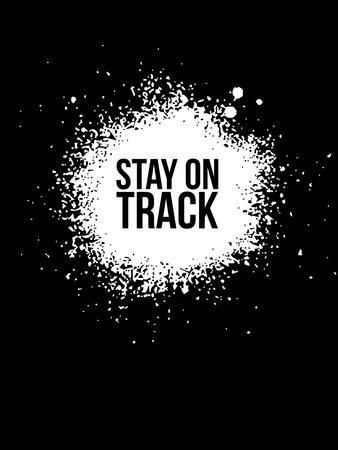 Stay on Track Black
