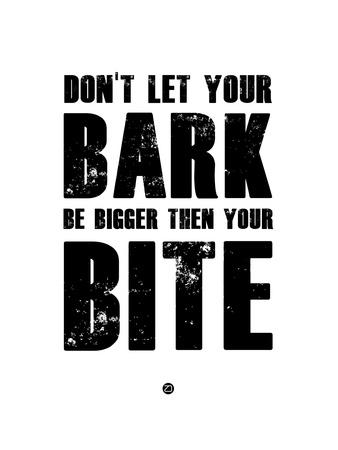 Bark and Bite White