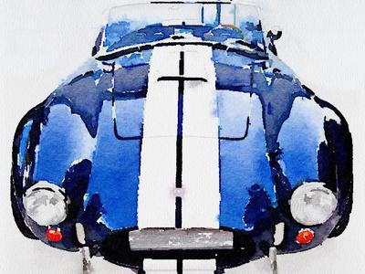 1962 AC Cobra Shelby Watercolor