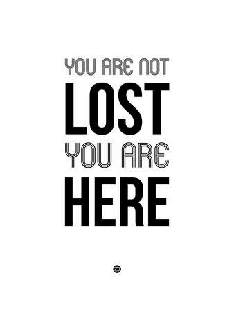 You are Not Lost White