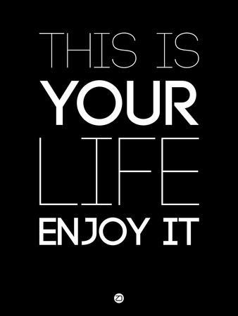 This Is Your Life Black