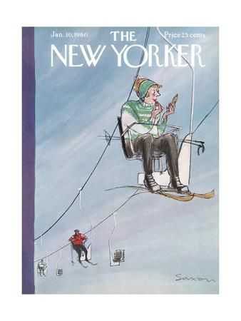 The New Yorker Cover - January 30, 1960