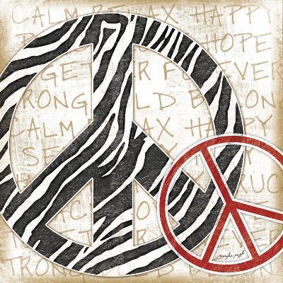 Peace Zebra