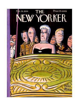 The New Yorker Cover - February 26, 1944
