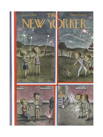 The New Yorker Cover - July 6, 1940