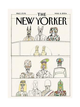 The New Yorker Cover - March 8, 2004