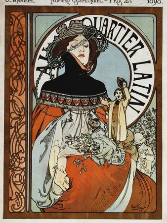Au Quartier Latin, 1898