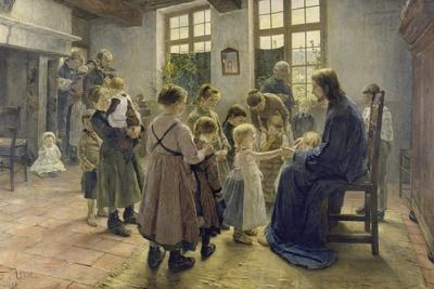 Let the Children Come to Me, 1884