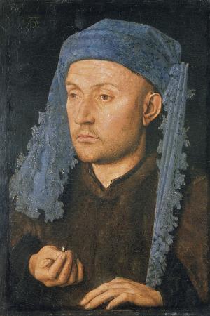 Portrait of a Man with Blue Headdress, C. 1430