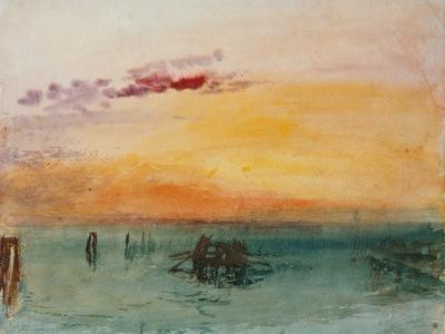 Venedig, View from Fusina, 1840