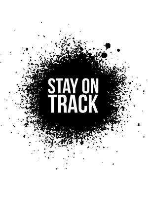 Stay on Track White