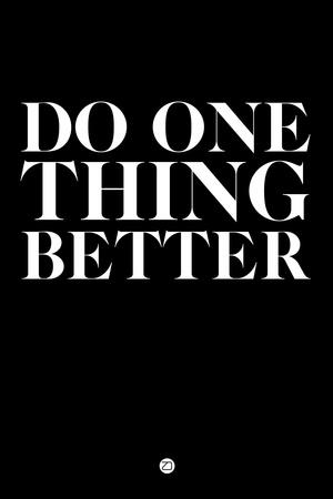 Do One Thing Better 1