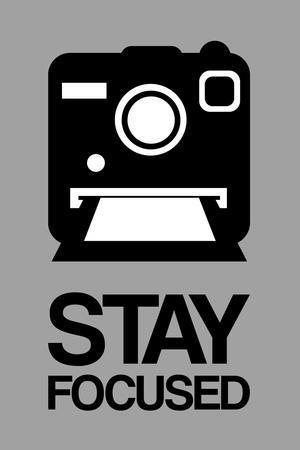 Stay Focused Polaroid Camera 1