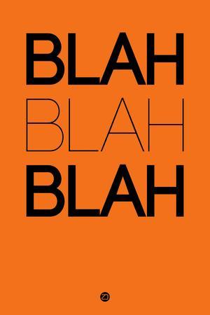 Blah Blah Blah Orange