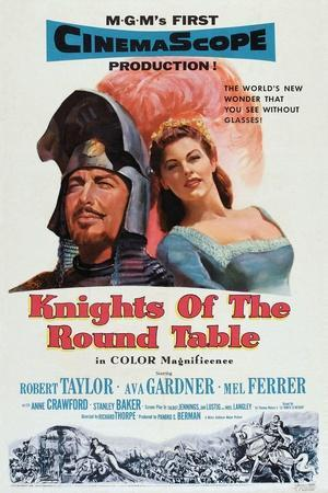 Knights of the Round Table, Robert Taylor, Ava Gardner, 1953