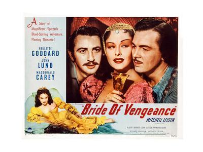 Bride of Vengeance, 1949