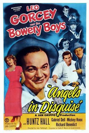 Angels in Disguise, Jean Dean, Leo Gorcey, Gabriel Dell, Huntz Hall, 1949
