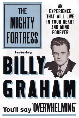 The Mighty Fortress, Rev. Billy Graham, 1955