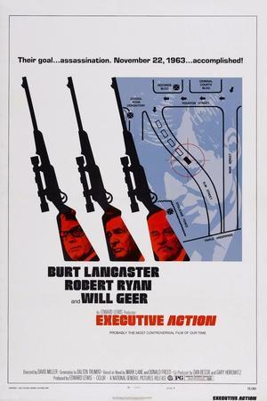 Executive Action, Burt Lancaster, Robert Ryan, Will Geer, 1973