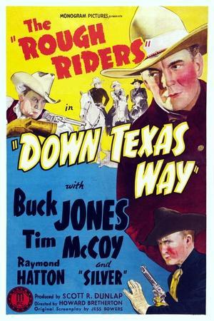 Down Texas Way, Raymond Hatton, Buck Jones, Tim Mccoy, 1942