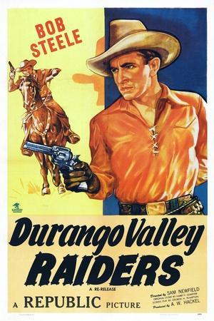 Durango Valley Raiders, Bob Steele, 1938