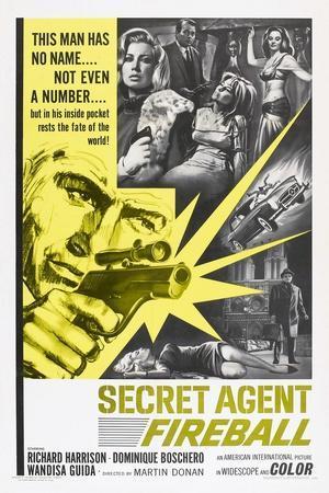 Secret Agent Fireball, 1965