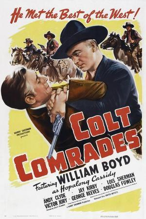 Colt Comrades, from Left: Victory Jory, William Boyd, 1943