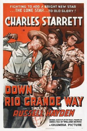Down Rio Grande Way, Charles Starrett, Russell Hayden, 1942