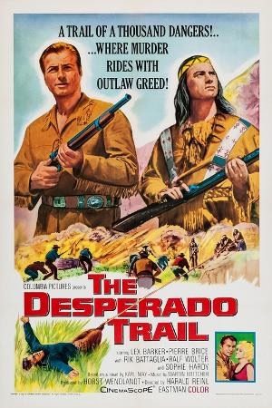 The Desperado Trail, from Left: Lex Barker, Pierre Brice, 1965