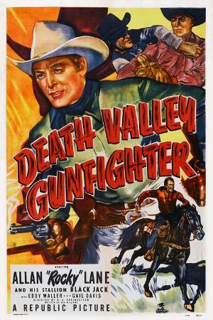 Death Valley Gunfighter, Top: Allan 'Rocky' Lane, Bottom: Allan 'Rocky' Lane, Black Jack, 1949