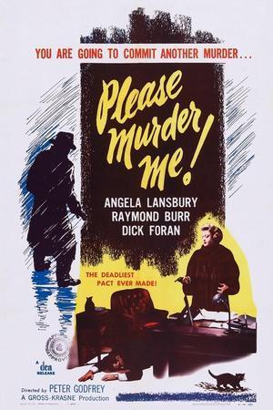 Please Murder Me, Bottom Right: Angela Lansbury, 1956